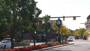 Main Street in Downtown Plymouth Michigan
